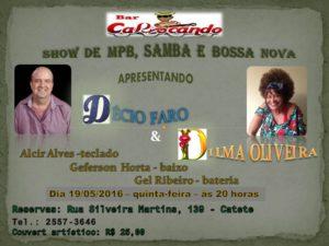 Show Décio Faro & Dilma Oliveira - MPB, Samba e Bossa Nova | Bar Cariocando @ Bar Cariocando | Rio de Janeiro | Rio de Janeiro | Brasil